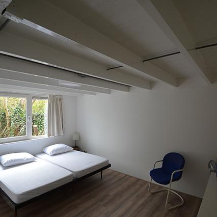 Enjoy comfortable beds